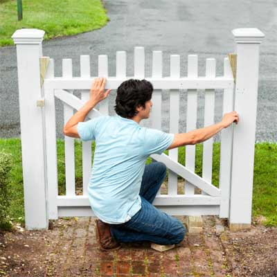 How To Build A Garden Gate And Fence
