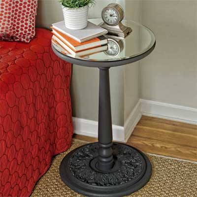 How to Build a Mirror-Topped Accent Table