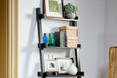 a ladder bookshelf
