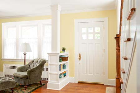How To Build A Columned Room Divider This Old House