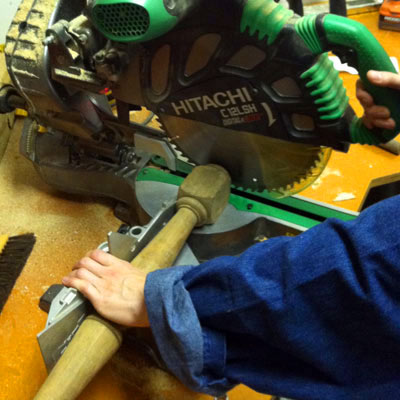 how to make candlesticks out of balusters cutting balusters to size with miter saw