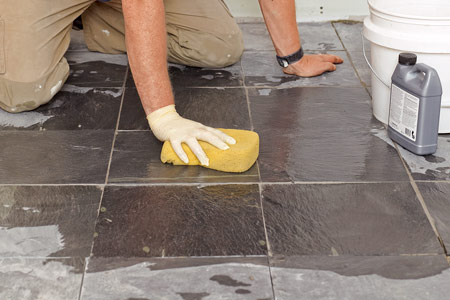 How To Lay A Stone Tile Floor This Old House