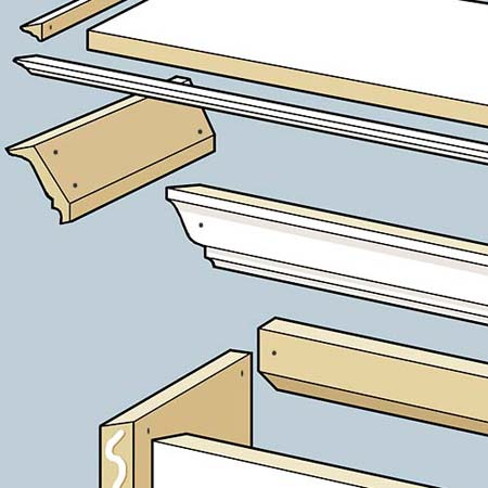 Prep and Paint when Building a Window Cornice
