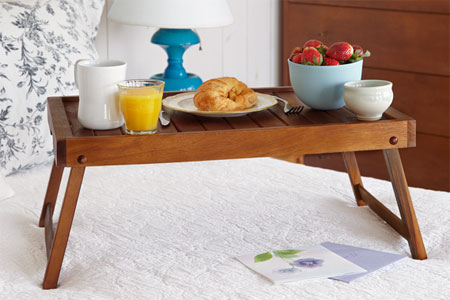 bed serving tray with legs 2