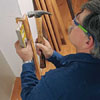 starting wainscoting at a corner