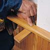 Marking cap rails to length