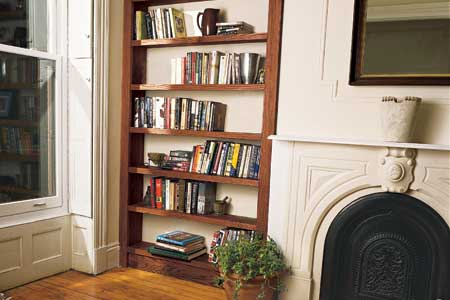 do it yourself bookcase plans