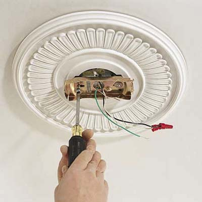 Mount The Ceiling Plate How To Install A Ceiling Fan