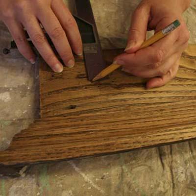 making doorknob coatrack