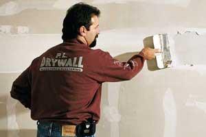 finishing drywall tout