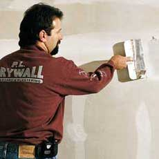 finishing drywall tout