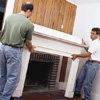 giving a fireplace a facelift