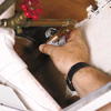 Cutting the supply pipe when installing an outdoor faucet