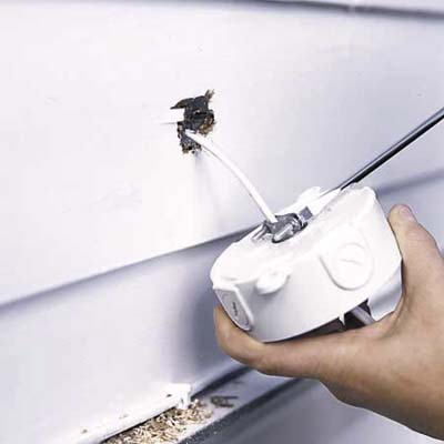 instaling a floodlight