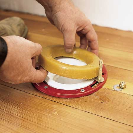 Set The Toilet Bowl How To Install A Toilet This Old House