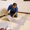 tiling a room from its center