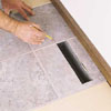 trimming tiles around heat registers