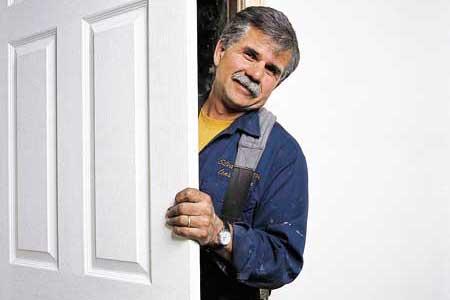 installing a prehung door tout