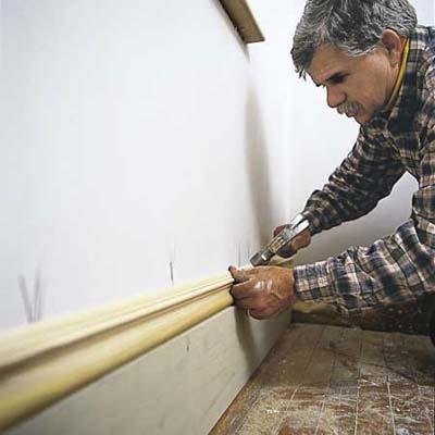 baseboards trim molding