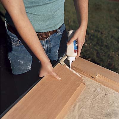 building a wooden screen door