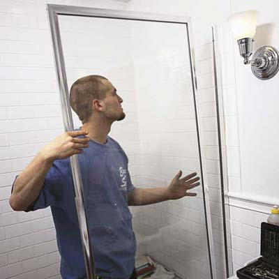 sliding shower door jamb guide 1 3 8