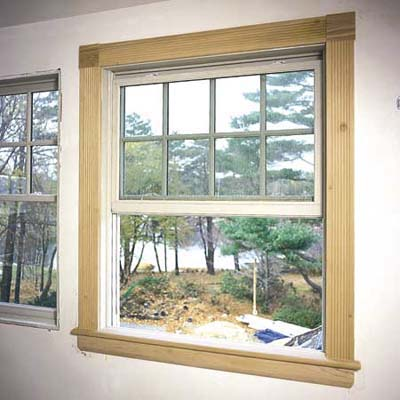 Finish Up The Installation How To Trim Out A Window