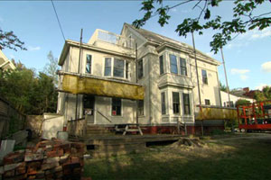 renovation begins at the Cambridge 2012 house project