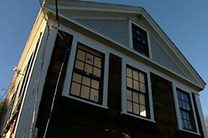 renovation continues at the Carlisle house project