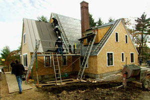 more exterior renovation at the Essex house project