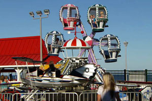 a Jersey Shore boardwalk amusement park ride