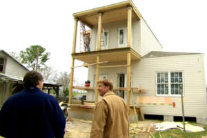 Norm Abram and Kevin O'Connor the New Orleans house project