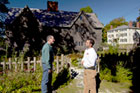 Norm tours local first-period homes with housewright Matt Diana