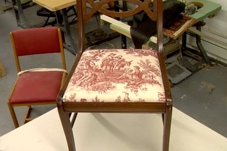How To Reupholster A Kitchen Chair