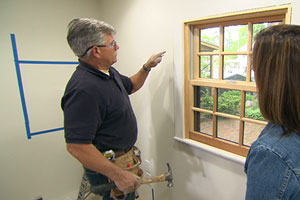 Tom Silva installs interior window trim