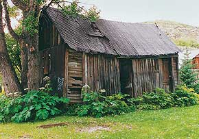 Colorado renovation bunkhouse shed