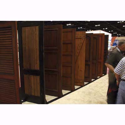 new and reclaimed ash, oak, alder, and other wood doors from Craftsmen in Wood