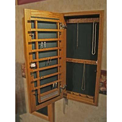 Mingo jewelry closet cabinet