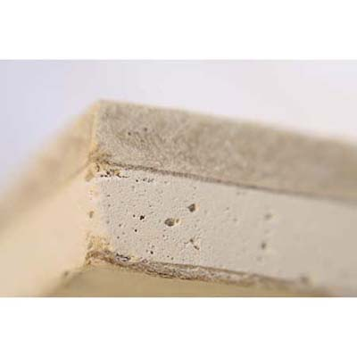 drywall/fiber-cement sandwich with a sound-absorbing layer