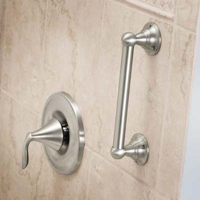 Moen designer hand grip for bathroom