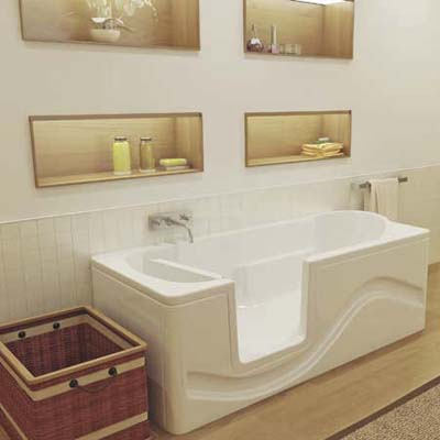 Walk-in tub from Oceania