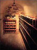 Milton: finished wine cellar