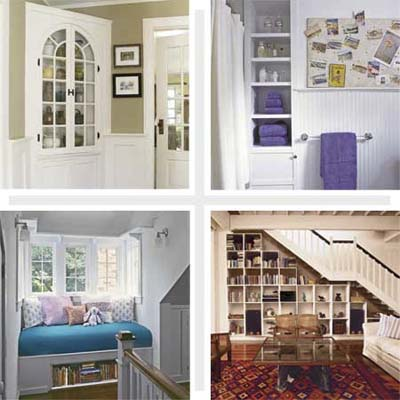 storage solutions small spaces property - home & furniture design