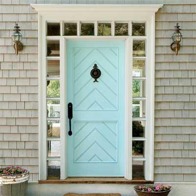 Door Color Ideas 10 Pretty Blue Doors