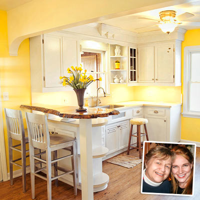 white kitchen cabinets yellow walls run kitchen redo notes of appreciation from 1815