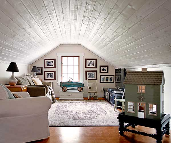 unfinished attic playroom ideas - Finished Attic The Best Whole House Remodel 2015